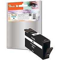 Cartouche d'encre Peach noir, avec puce, compatible avec HP CN684EE, No. 364XL