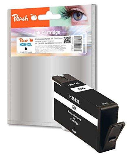 Preisvergleich Produktbild Peach Tintenpatrone schwarz kompatibel zu HP No. 364XL, CN684EE
