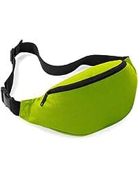 Unisex Men Women Fashion Sporty Multi-purpose 2-Zipper Waist Belt Bag Fanny Pack Adjustable Strap For Sport Hiking... - B00OAOMBJA