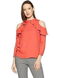 Van Heusen Woman Plain Regular Fit Shirt