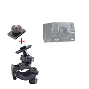 Support fixation DURAGADGET vélo/VTT/BMX pour caméra embarquée/caméscope Rollei Bullet HD 2 & Lite 2, 3S, Bullet 4S et 5S Wi-Fi Full HD
