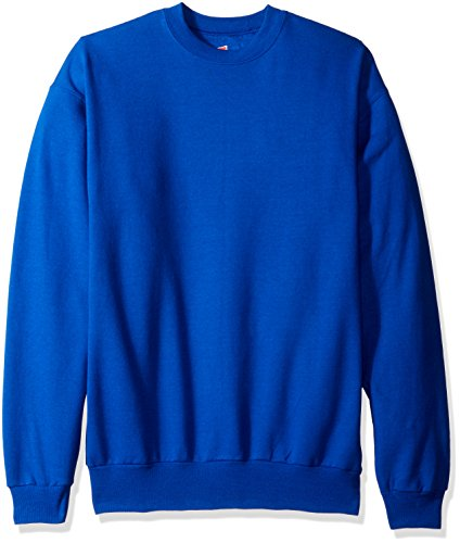 Hanes Comfortblend Long Sleeve Crew Fleece Blau