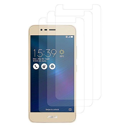 VComp-Shop® 3x Transparente Bildschirmschutzfolie für Asus Zenfone 3 Max ZC520TL 5.2