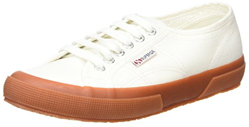 Superga Unisex-Erwachsene 2750 Classic Low-Top Blau (White Gum)