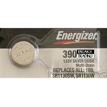 Energizer 390SR1130SW SB-AU óxido de plata pila de reloj, 1,55V)