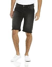 Bench Washed Black, Pantalones Cortos para Hombre