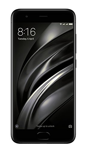 "Xiaomi Mi 6 - Smartphone libre de 5.15"" (4G, WiFi, Bluetooth 5.0, NFC, Snapdragon 835 2.45 GHz, 64 GB ROM, 6 GB RAM, Dual chamber 12 Mp, MIUI Android, dual-SIM), negro [Spanish version]"