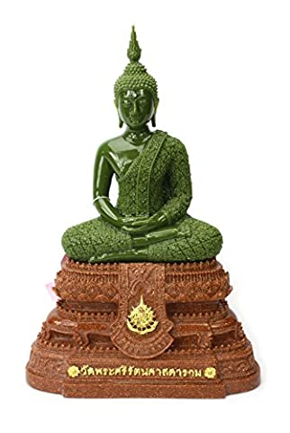 Thai Royal Palace Smaragd Buddha, Regenzeit Kleidung, 28cm hoch