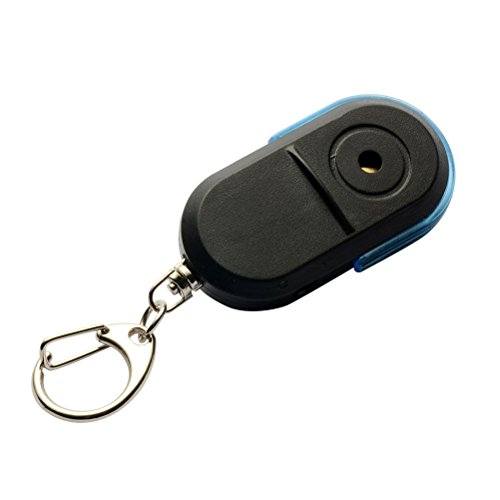 bestomz kabellos Schlüssel Locator mit Alarm und LED Licht (blau) -