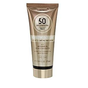 Tannymaxx Protective Face Care SPF 50 con Manteca de Karité y Aceite de Macadamia – 75 ml