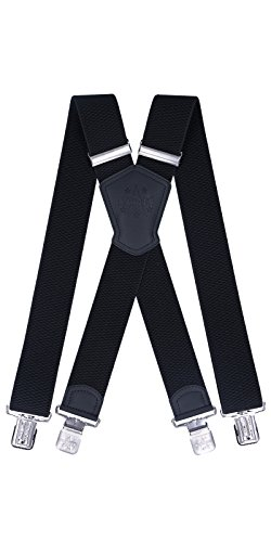 Ranger Hosenträger X Form robust Dx50 (schwarz 1)
