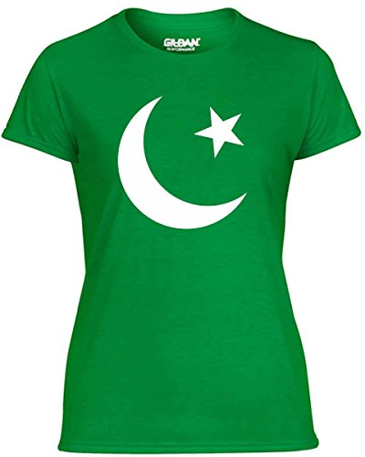 T-Shirtshock - T-shirt Donna TM0190 flag of Pakistan flag, Taglia S