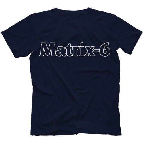 Oberheim Matrix-6 Synthesizer T-Shirt in 13 Farben Marineblau