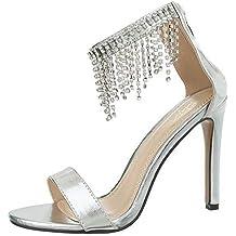 979fa131842039 Ital-Design Damenschuhe Sandalen   Sandaletten High Heel Sandaletten