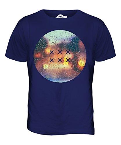 CandyMix Regentropfen Herren T Shirt Navy Blau