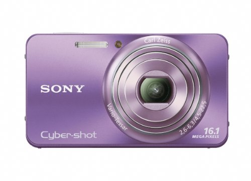Sony Cyber-Shot DSC-W570 16.1 MP Digital Still Camera (Violet) Sony Digital Still Camera