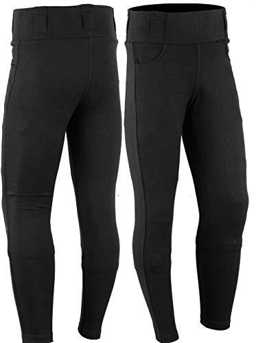 SGI-BIKE [Mod2] Damen DupontTM Kevlar® Motorrad Jeans Hose Leggins Motorradhose 2X Protektoren (S)
