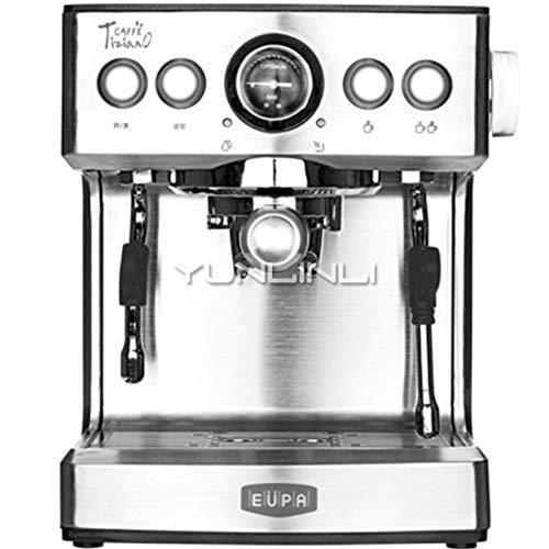KOUDAG Kaffeemaschine Espressomaschine 2.1L HandelsdampfkaffeemaschineHalbautomatische Kaffeemaschine