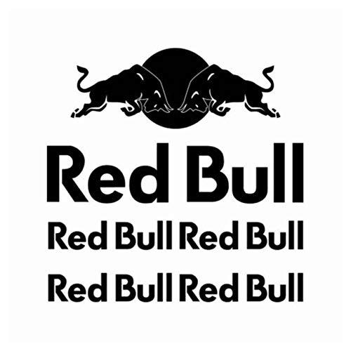 SUPERSTICKI Redbull Sponsorset 268 ca 30cm Motorrad Bike Motorcycle Aufkleber Bike Auto Racing Tuning aus Hochleistungsfolie Aufkleber Autoaufkleber Tuningaufkleber Hochleistungsfolie für a
