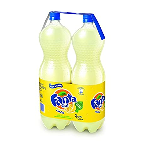 Fanta lim n Pack de 2 botellas x 2 litros