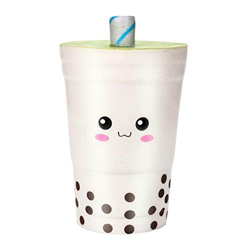 Preisvergleich Produktbild 2018 Honestyi Matschig Spielzeug, 16cm Jumbo Squishys Süße Milch Tassen Creme duftende Squishies Langsam Steigende Charm Spielzeug