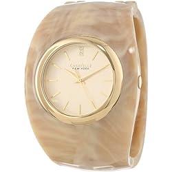 Caravelle New York 44L135analógico Reloj de Cuarzo japonés de la Mujer