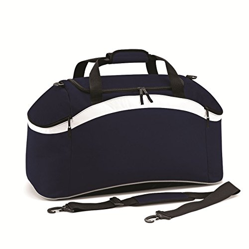 BagBase Teamwear Holdall 1er Pack French Navy/French Navy/White