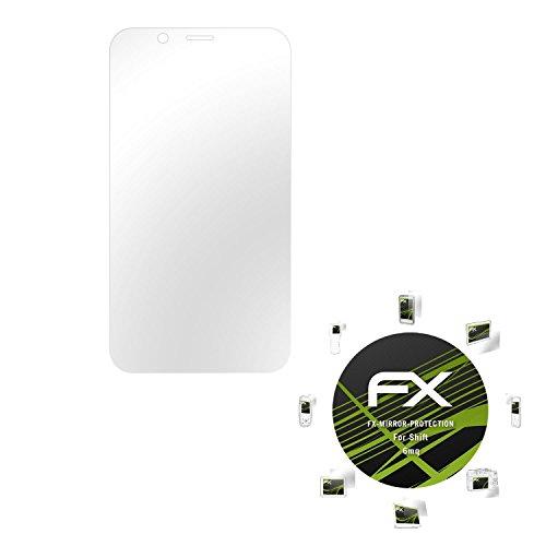 atFolix Bildschirmfolie kompatibel mit Shift 6mq Spiegelfolie, Spiegeleffekt FX Schutzfolie