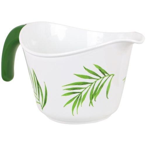 Bamboo Leaf Bowl (Corelle Coordinates Bamboo Leaf 2-Quart Microwave Batter Bowl by Reston Lloyd)