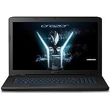 MEDION ERAZER P7647 43,9 cm (17,3 Zoll Full HD) Notebook (Intel Core i7-7500U, 2,7 GHz, 16 GB RAM, 1 TB HDD, 256 GB SSD, NVIDIA GeForce GTX 950M (4 GB VRAM), Windows 10) schwarz