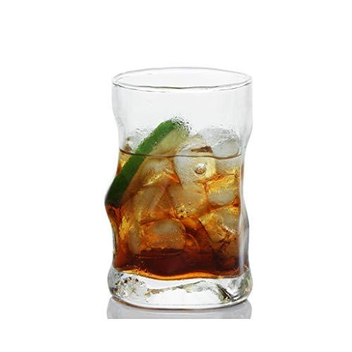 Personnalité en Vague Verre Coupe Tasse De Poulet Barre De Verre À Vin Créative KTV Verre De Verre À Whiskey Verre 300ml JXLBB