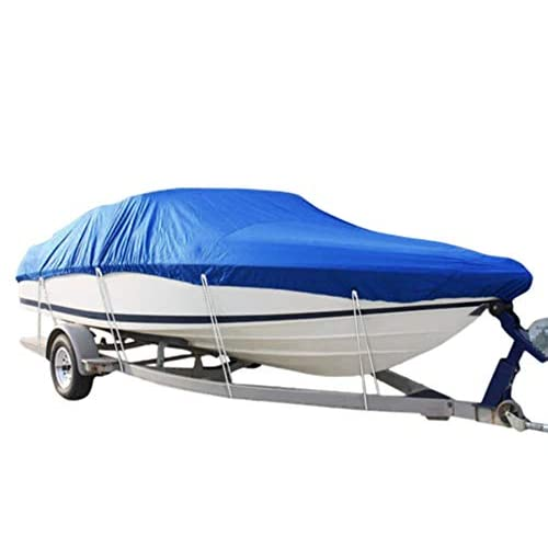41D8sGKM28L. SS500  - RIYIFER Trailerable Runabout Boat Cover, 600D Marine Grade Polyester Oxford cloth Boat Cover Shield Waterproof Sunblock…