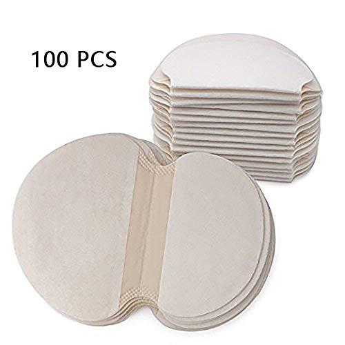 100 piezas Desechables almohadillas para el sudor