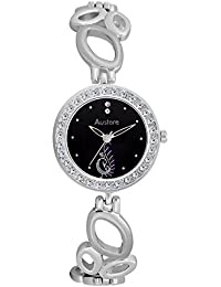 Austere EMMY Analogue Black Dial Women's Watch (WE-0207)(WE-0207)