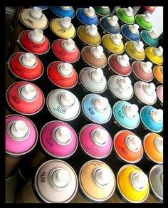 GMG Spray Color Acabado ACRILICO ó BICAPA ó Base disolvente 400ml