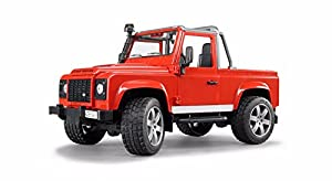 Land Rover 51TOADPR: Defender de Recogida, Color Rojo