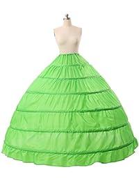 beautelicate novia para vestidos de novia enagua 6aros Larege Full (más colores)