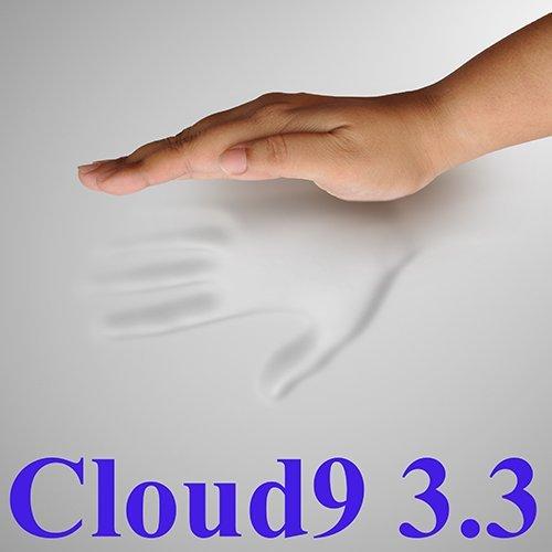3.3 Cloud9 Matratzenauflage für King-Size-Bett, 100% viskoelastisch, Memory-Schaum, 7,6 cm (Memory-foam-king Matratzenauflage)