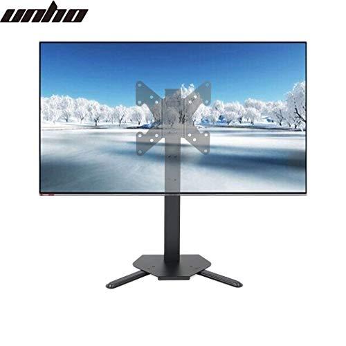 unho TV Standfuss Universal Höhenverstellbar Monitor Halterung Ständer Fernsehtisch LCD LED OLED Plasma Flachbildfernseher Stand für 17