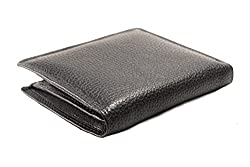iMEX Mens Black Genuine Leather Wallet