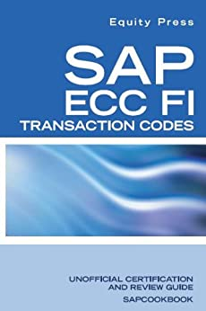 SAP FICO LIST PDF TCODES