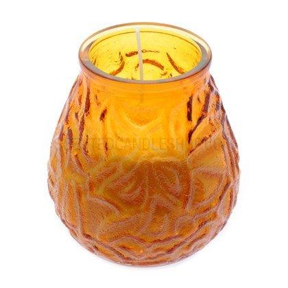Bolsius Lowboy Jar Kerze (Bernstein)–1x Lowboy Jar Kerze