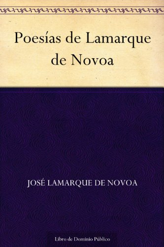 Poesías de Lamarque de Novoa