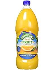 Robinsons Double Concentrate Orange Squash No Added Sugar, 1.75 Litre