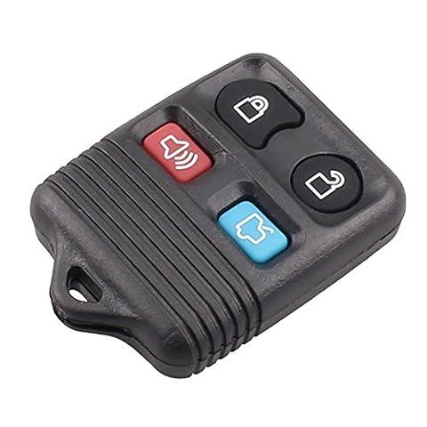 Télécommande 4boutons pour Ford Explorer Entrée Sans Mercure Lincoln Coque