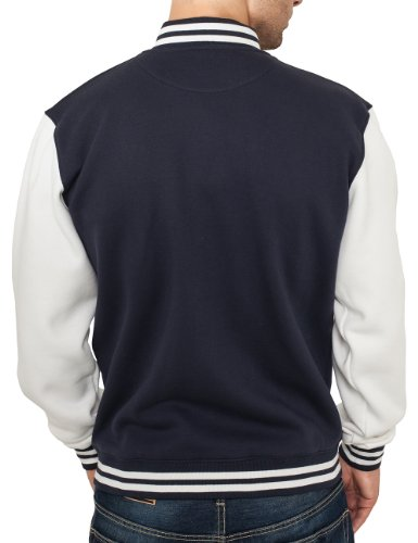 Urban Classics Herren Jacke Blau (Navy/Weiß)