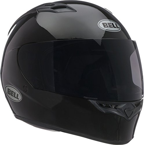 Bell Solid Adult Qualifier Road Race Motorcycle Helmet - Black - Medium by B