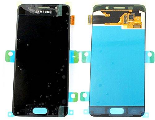 Original Samsung Galaxy A3 (2016) A310F A310 AMOLED LCD Display Touchscreen Digitizer Glas Service Ersatzteil Einheit Schwarz OCTA GH97-18249B