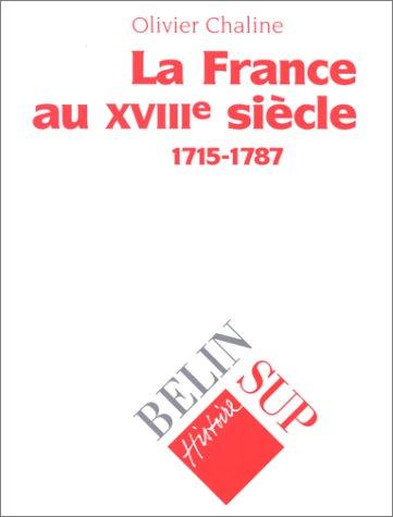La France au XVIIIe siècle (1715-1787)