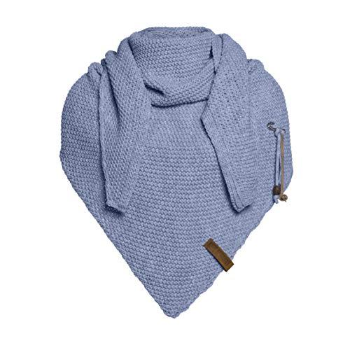 Knit Winter-schal (Knit Factory Coco Umhängetuch 190x85 Indigo)